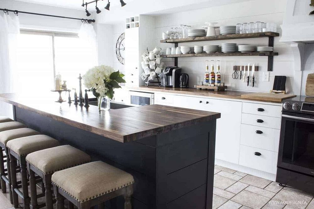 21 Farmhouse Kitchen Ideas From Budget To Luxury In 2021 Houszed