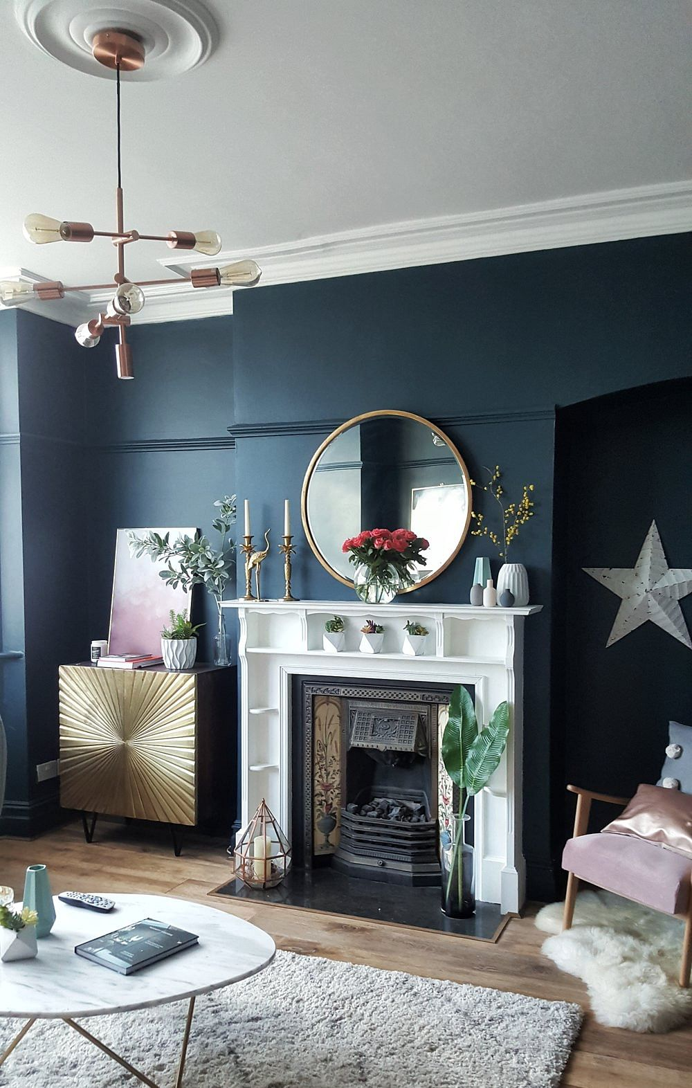 16 Blue Living Room Ideas That Wont Turn You In 2021 Houszed