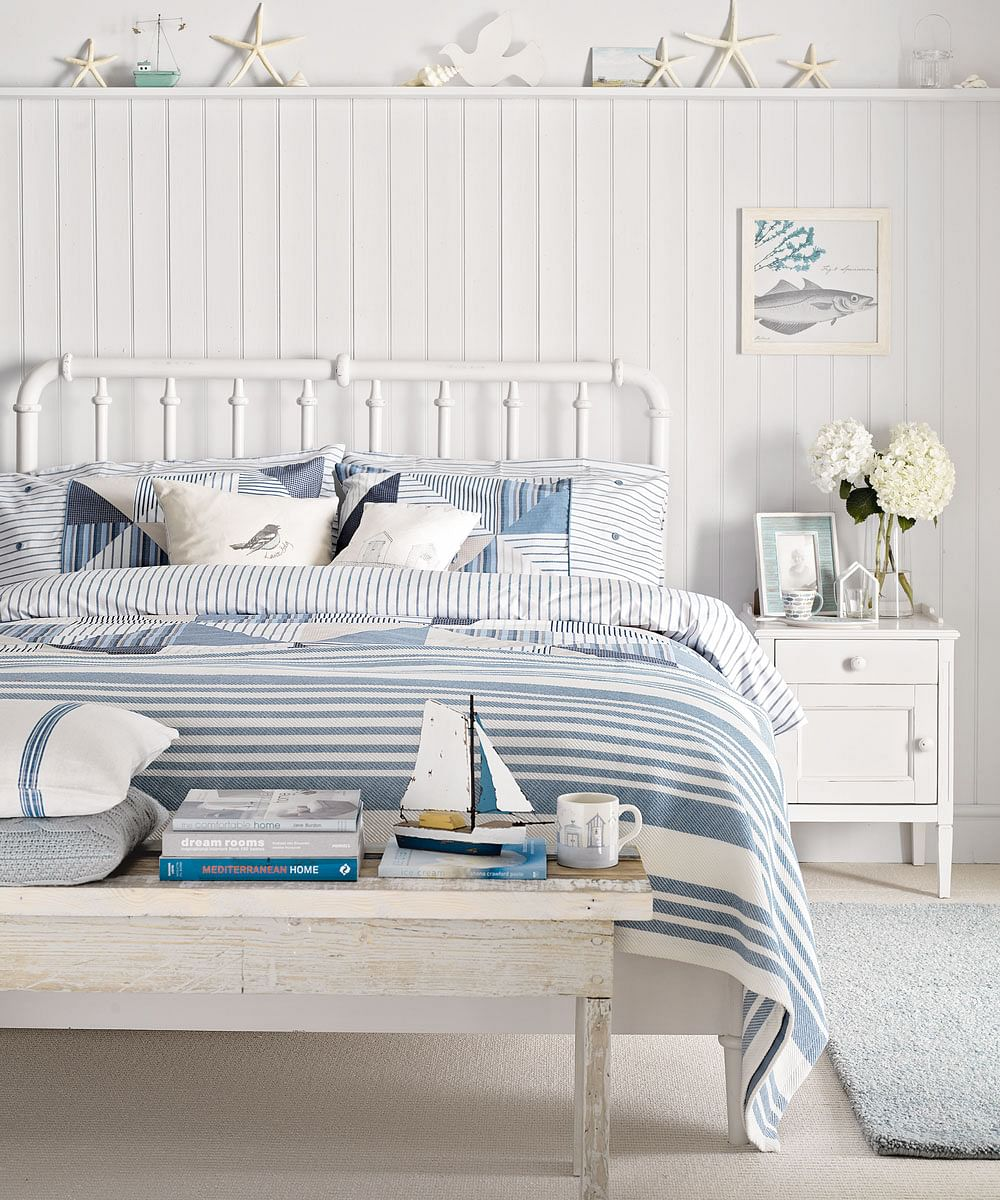 11+ Nautical Bedroom Ideas to Inspire You in 11  Houszed