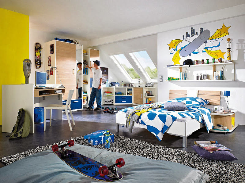 31 Stylish Teen Boy Bedroom Ideas That Rock In 2020 Houszed