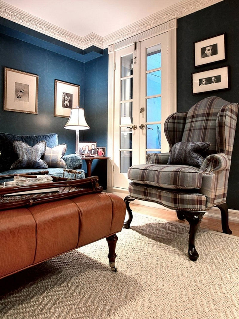 19 Brown And Blue Living Room Ideas That Won T Give You The Blues