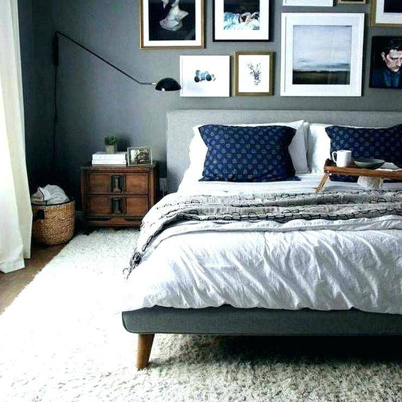 18 Blue And Gray Bedroom Ideas That Make You Happy In 2020 Images