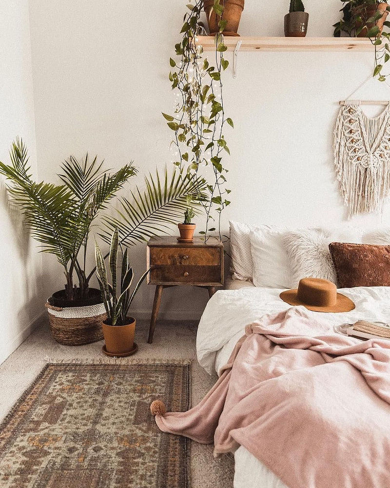 19 Boho Bedroom Ideas That Deliver That Chic Bohemian Vibe In 2021