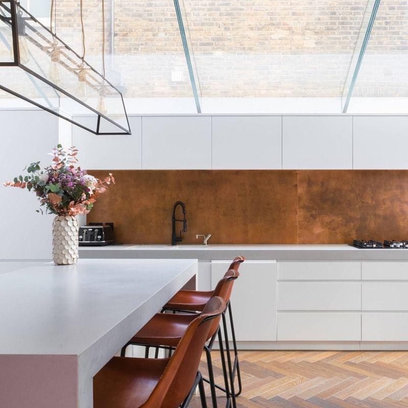 Copper Kitchen Tiles Houszed