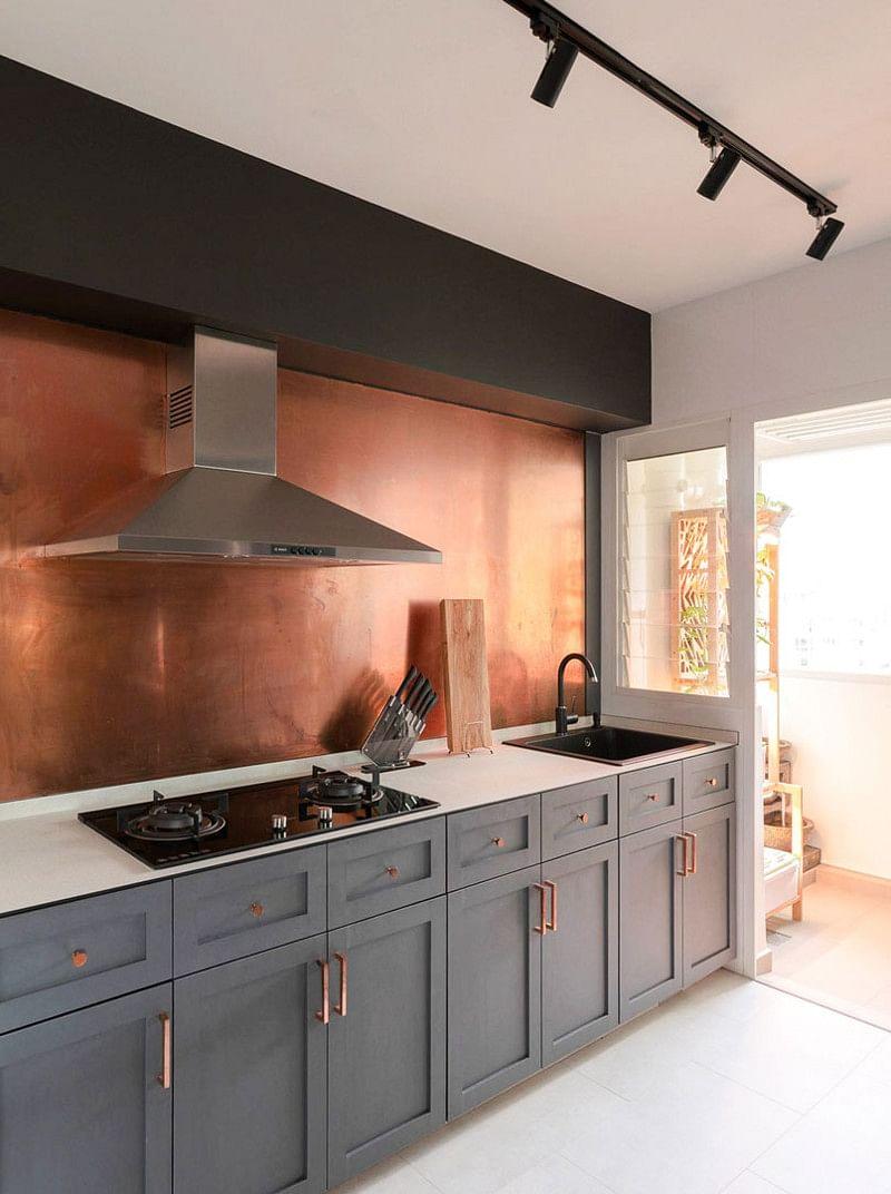 15 Copper Kitchen Backsplash Ideas