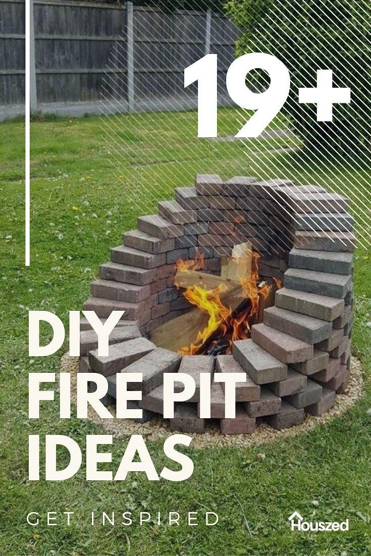 19 Diy Fire Pit Ideas That Wont Break The Bank In 2021 Houszed