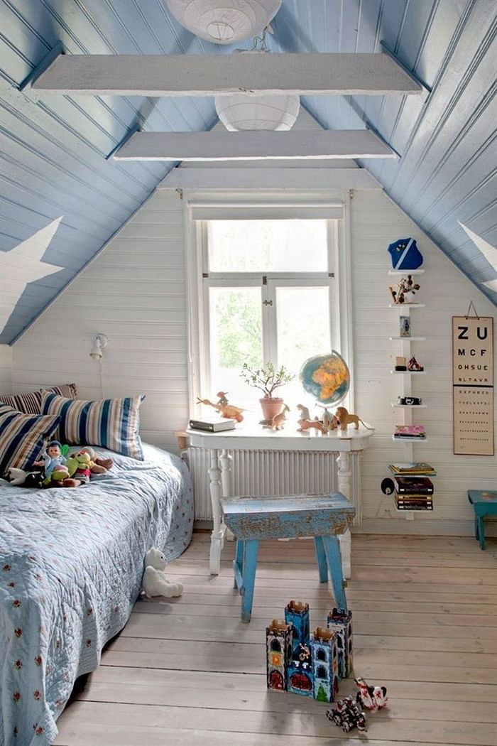 girls attic room ideas