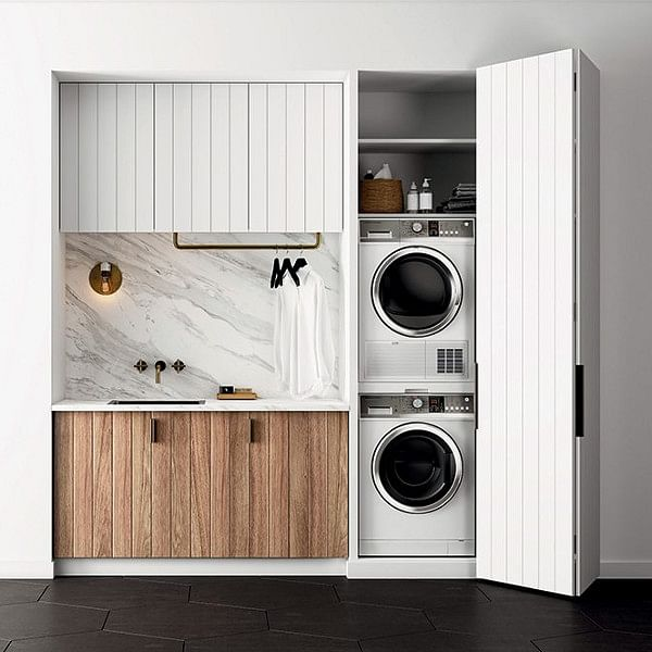 19 How To Hide A Washing Machine Ideas, How To Build Cabinets Hide Washer And Dryer