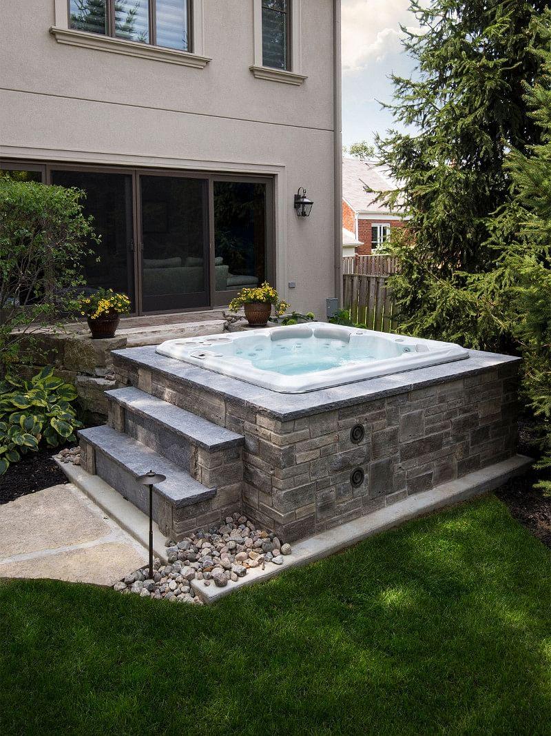 20+ Amazing Backyard Hot Tub Ideas in 20   Houszed