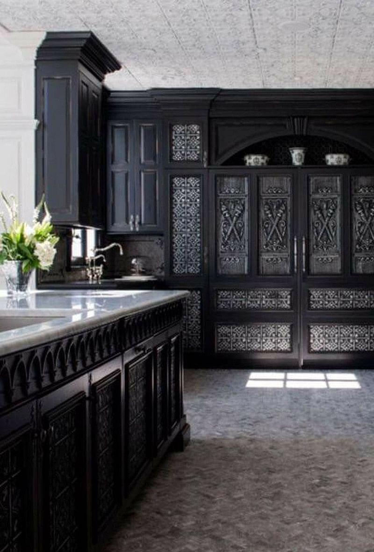 7 Wonderful Gothic Kitchen Ideas In 2021 Houszed