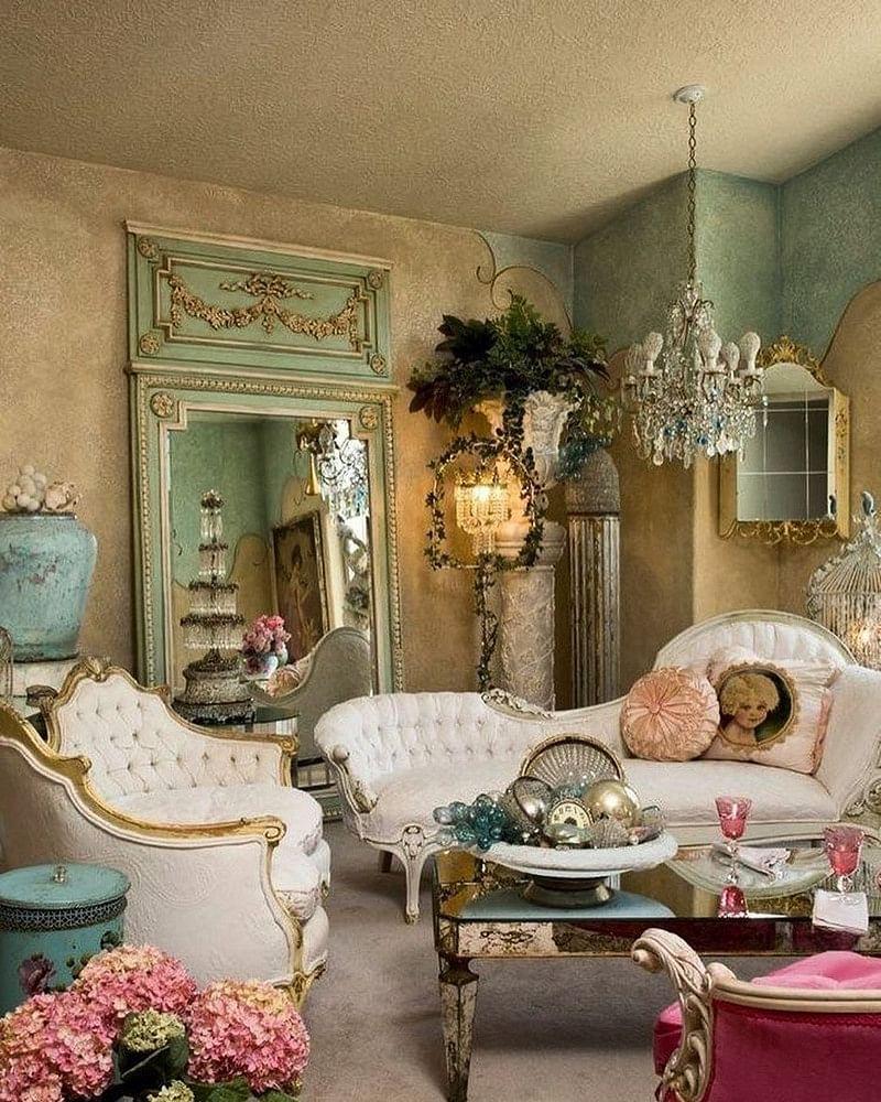 25 Wonderful Shabby Chic Living Room Decor Ideas In 2021 Houszed