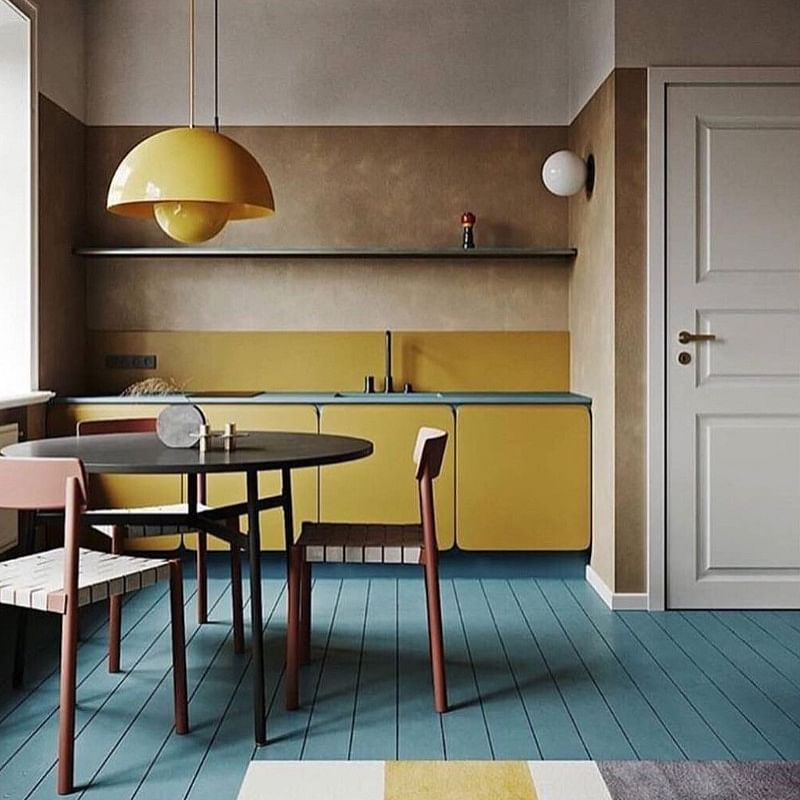 Yellow And White Kitchen Ideas Houszed