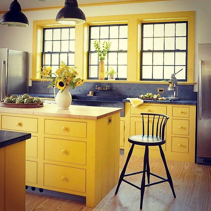 26 Yellow Kitchen Ideas That Make The Sun Shine Indoors Houszed