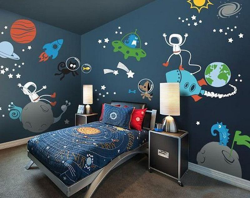 19 Space Bedroom Ideas Ready For Lift Off In 2021 Kids Houszed