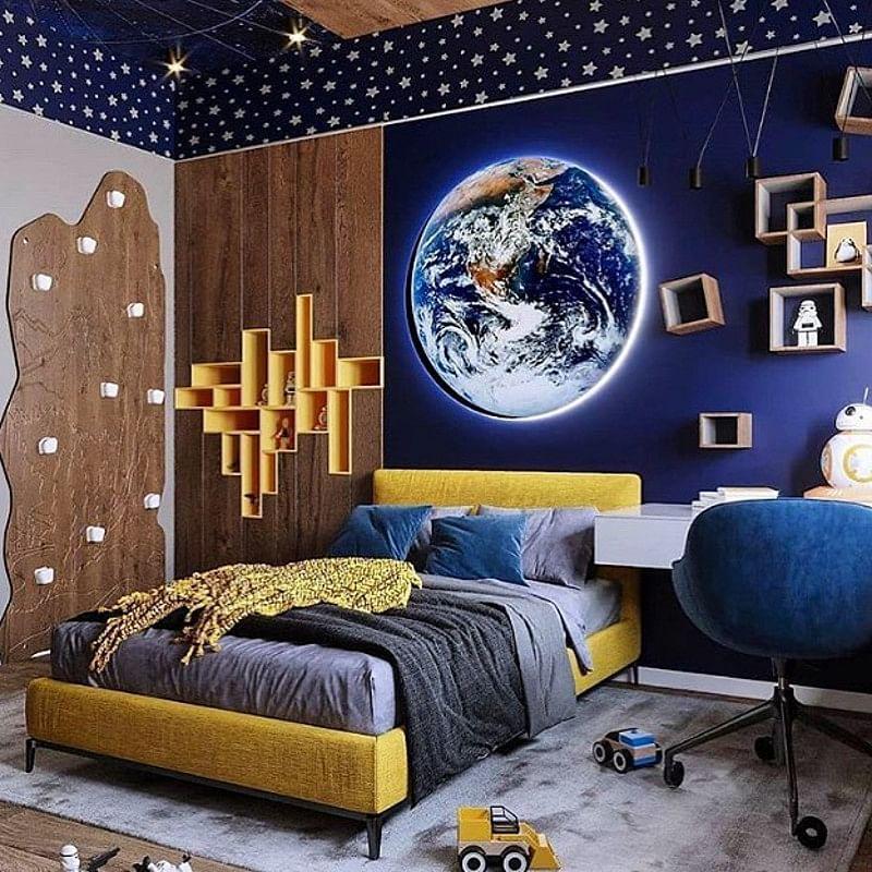 11+ Space Bedroom Ideas Ready for Lift Off in 11  Kids  Houszed
