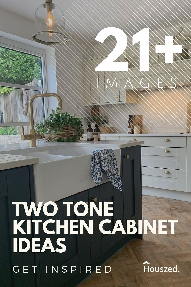 9+ Two Tone Kitchen Cabinets That Are Bang on Trend in 209