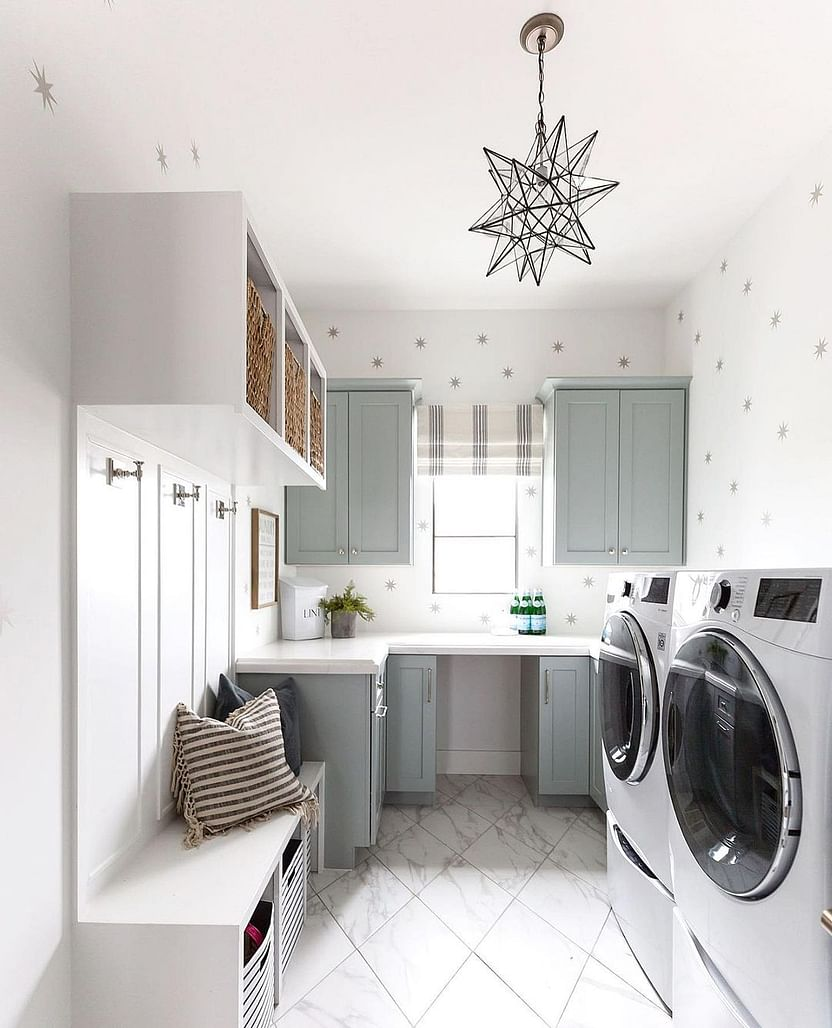 20+ Amazing Small Laundry Room Ideas That Work in 2020   Houszed