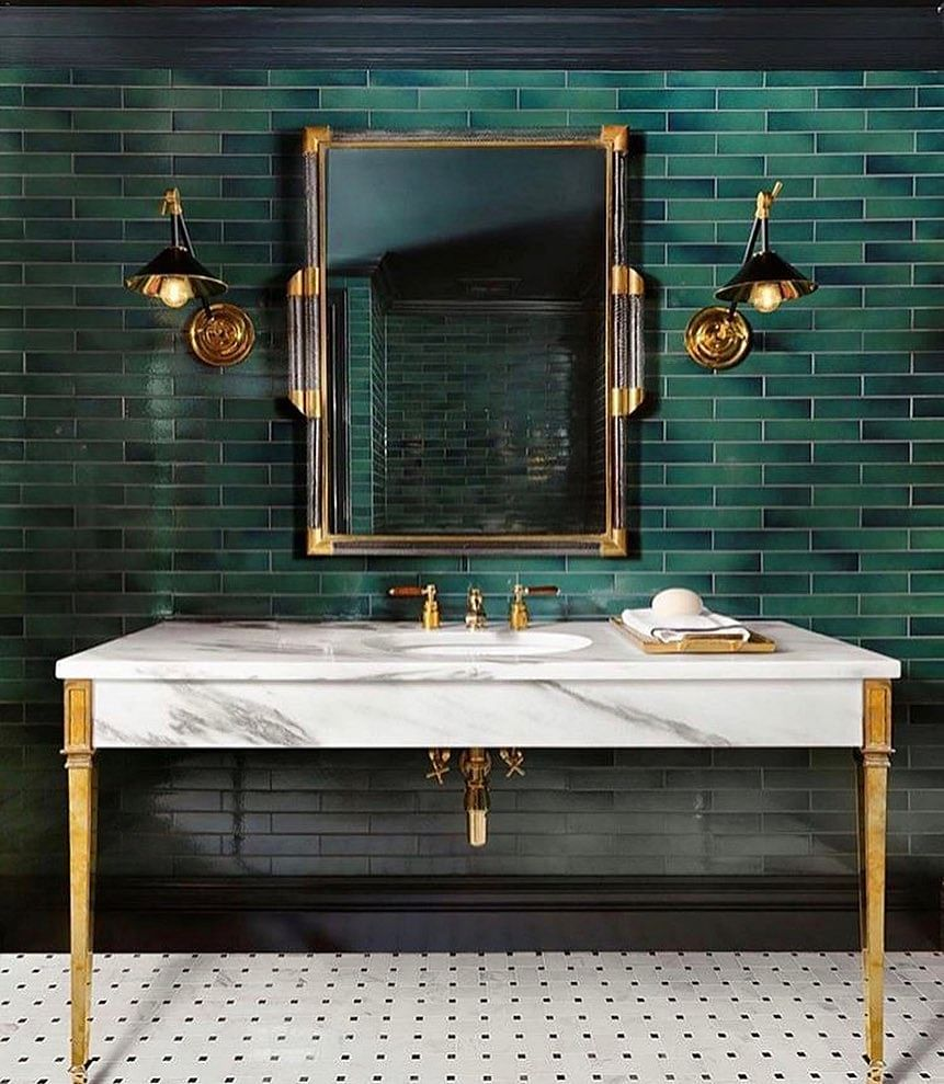 31 Small Powder Room Ideas That Inspire In 2021 Houszed